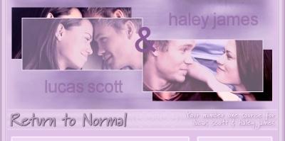 Lucas & Haley <3