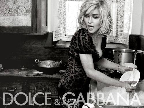 madonna for Dolce & Gabbana – HQ Pictures