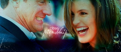 Elliot and Olivia wallpaper containing a portrait entitled Mariska and Chris