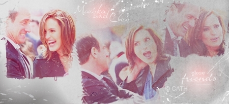 Elliot and Olivia wallpaper titled Mariska and Chris