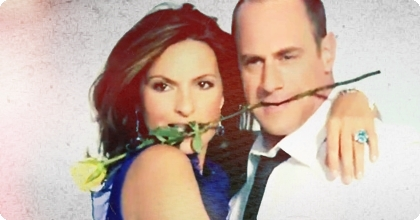 Elliot and Olivia wallpaper entitled Mariska and Chris