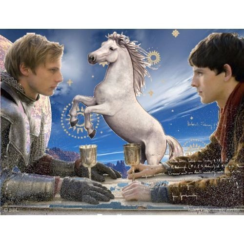 Merlin,Arthur and the Unicorn