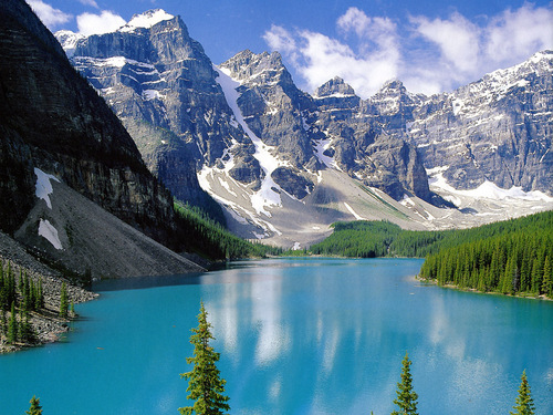Canada wallpaper titled Moraine Lake