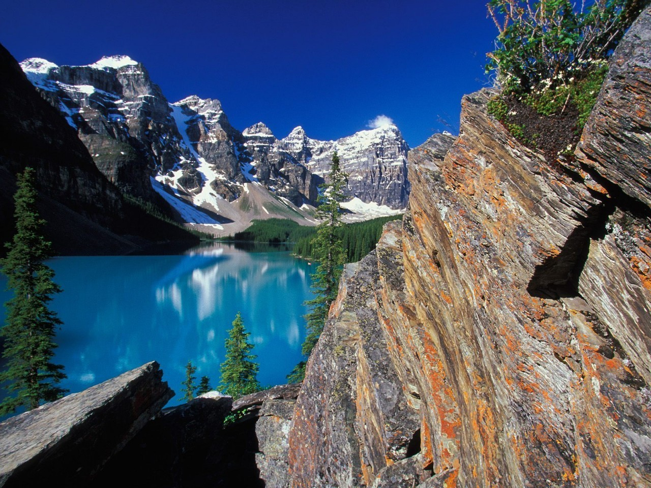 how to get to moraine lake