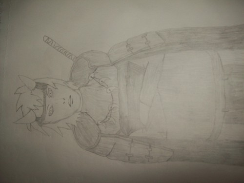 My Rikudo Sennin Drawing