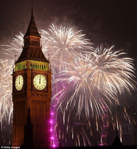 New Years Eve Celebrations In London 2009