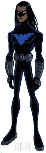 Los Jóvenes Titanes fondo de pantalla entitled Nightwing