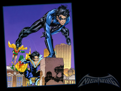 Nightwing fond d'écran