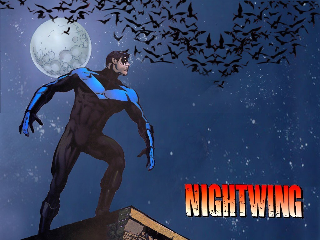 nightwing wallpaper robin dick grayson nightwing