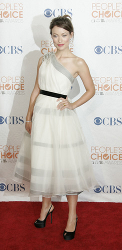 Olivia Wilde @ the 2010 People's Choice Awards