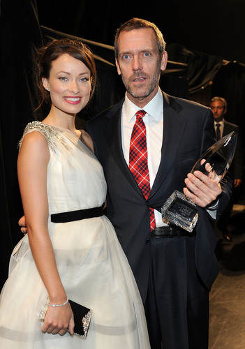Olivia Wilde with Hugh Laurie @ the 2010 People's Choice Awards