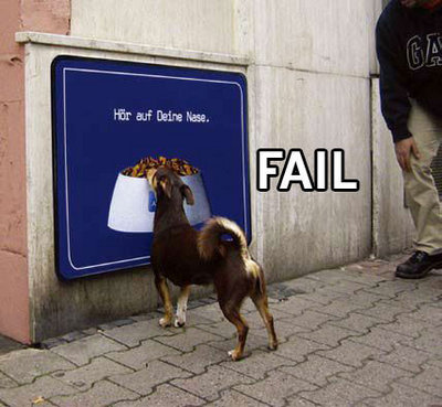 Poor Doggy Fail