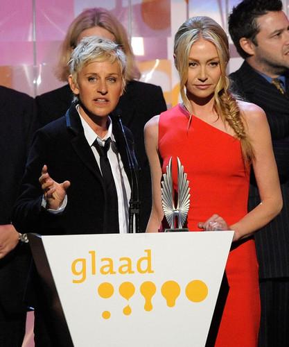 Portia @ 20th Annual GLAAD Media Awards