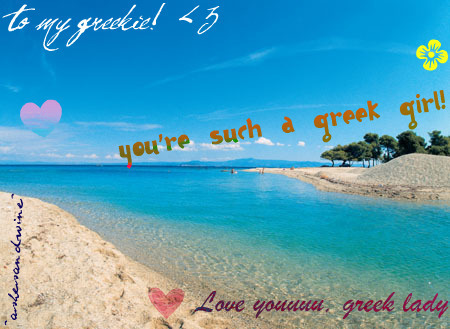 Maria&Jєnn♥ wallpaper with a beach entitled Present for my besties <3