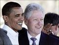 President Clinton & President Obama