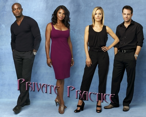 Private Practice پیپر وال containing a well dressed person titled Private Practice