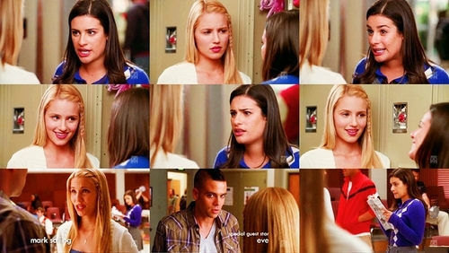 Glee Quinn And Rachel