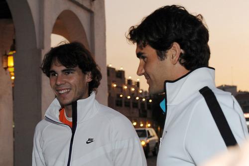 Rafa and Roger