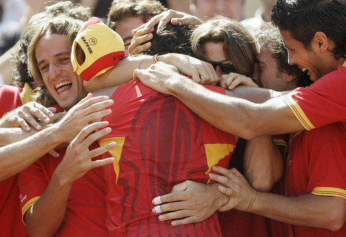 Rafael Nadal wallpaper titled Rafa embrace