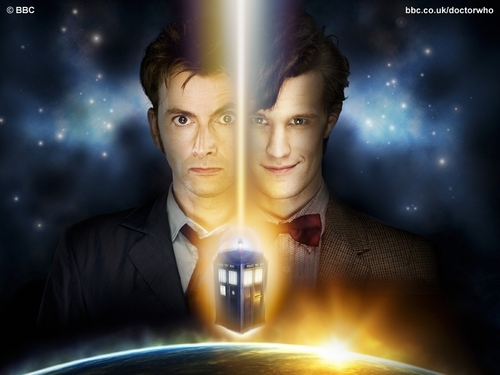 Doctor Who kertas dinding titled Regeneration