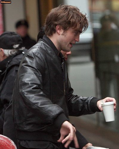 Robert Pattinson in NYC November 2008