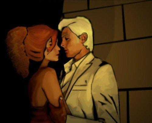 Rose&Scorpius stolen moment