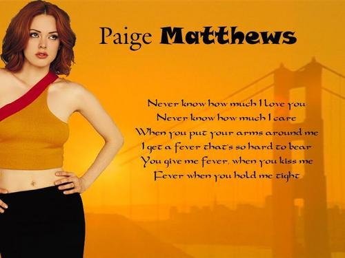 Rose as Paige;)