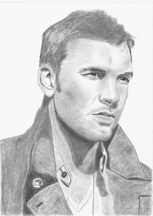 Sam Worthington Drawing