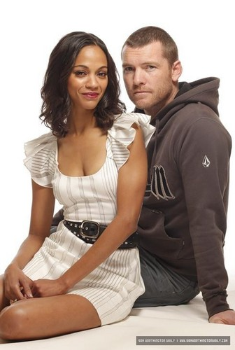Sam Worthington & Zoe Saldana