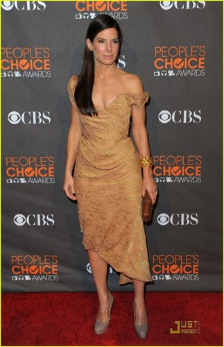 Sandra @ 2010 People's Choice Awards