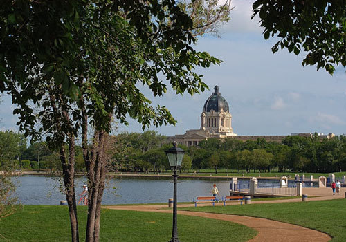 Saskatchewan's Legislative Building
