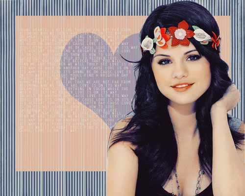 Selena Обои