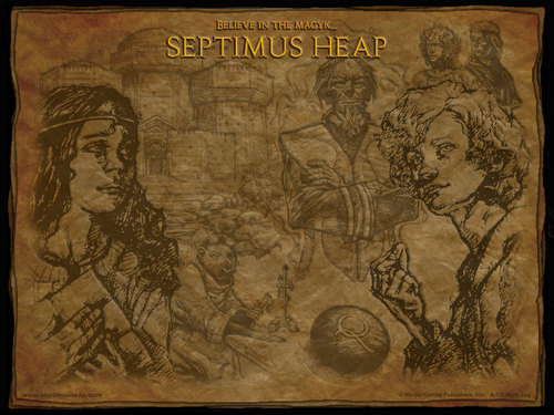 Septimus heap Queste - septimus-heap Wallpaper