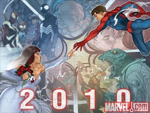 Spider-man 2010 puzzle