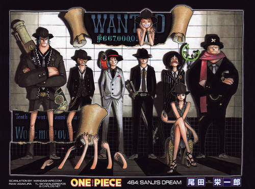 One Piece achtergrond possibly containing anime called Straw Hat Crew Bounty