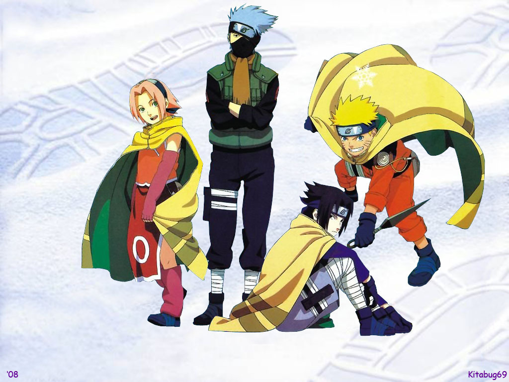 naruto images team 7 hd wallpaper and background photos 9735576