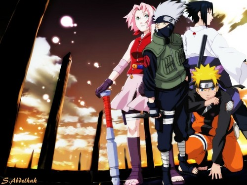 Naruto wallpaper called Team 7