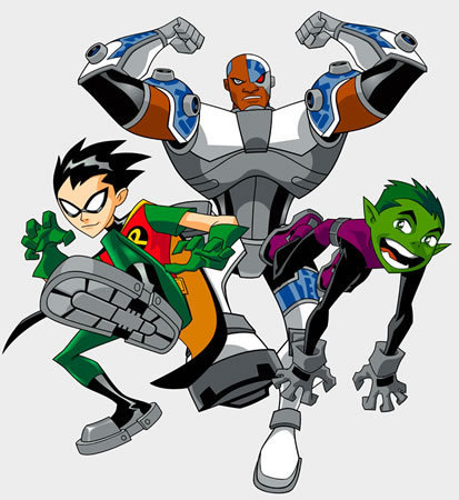 Teen Titans ( Male's )