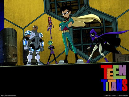Teen Titans wallpaper with anime called Teen Titans
