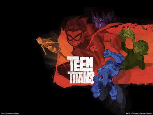 Los Jóvenes Titanes fondo de pantalla probably with a triceratops entitled Teen Titans
