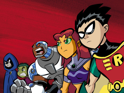 Los Jóvenes Titanes fondo de pantalla containing anime called Teen Titans