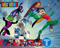 Teen Titans - teen-titans wallpaper