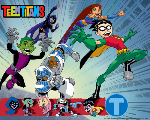 Los Jóvenes Titanes fondo de pantalla containing anime entitled Teen Titans