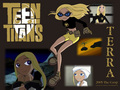 Terra - teen-titans wallpaper