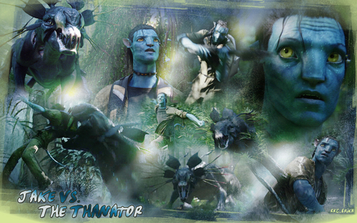 Avatar wallpaper called Thanator Chase Wallpaper