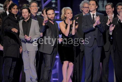 The Bug Bang Theory Cast and Producers @ PCA 2010