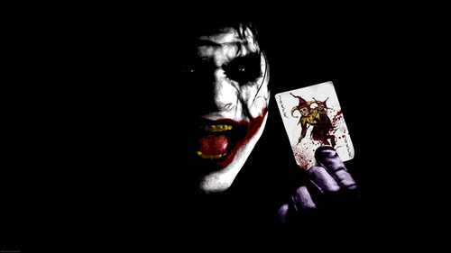 The Joker kertas dinding entitled The Joker