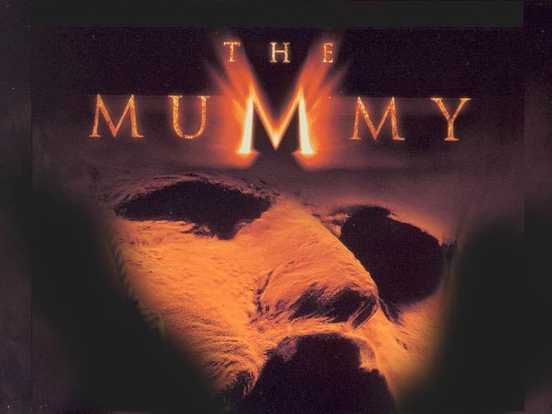 the mummy wallpaper. The Mummy