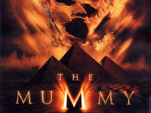 The Mummy Filme Hintergrund with a brunnen called The Mummy