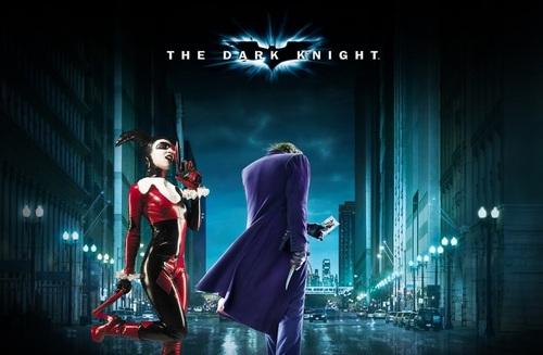 The dark knight harley and the joker